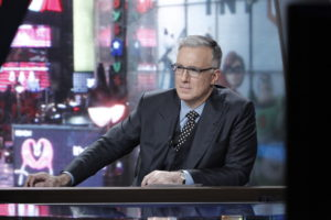 New York, N.Y. - August 26, 2013 - Times Square Studio: Host Keith Olbermann on the set (photo credit: Lou Rocco/ESPN Images)
