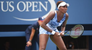Queens, NY - August 31, 2015 - USTA Billie Jean King National Tennis Center: Venus Williams competing in the 135th staging of the US Open (Photo by Scott Clarke / ESPN Images)