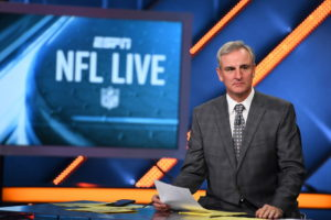 Bristol, CT - September 19, 2016 - Studio W: Trey Wingo on the set of NFL Live (Photo by Joe Faraoni / ESPN Images)