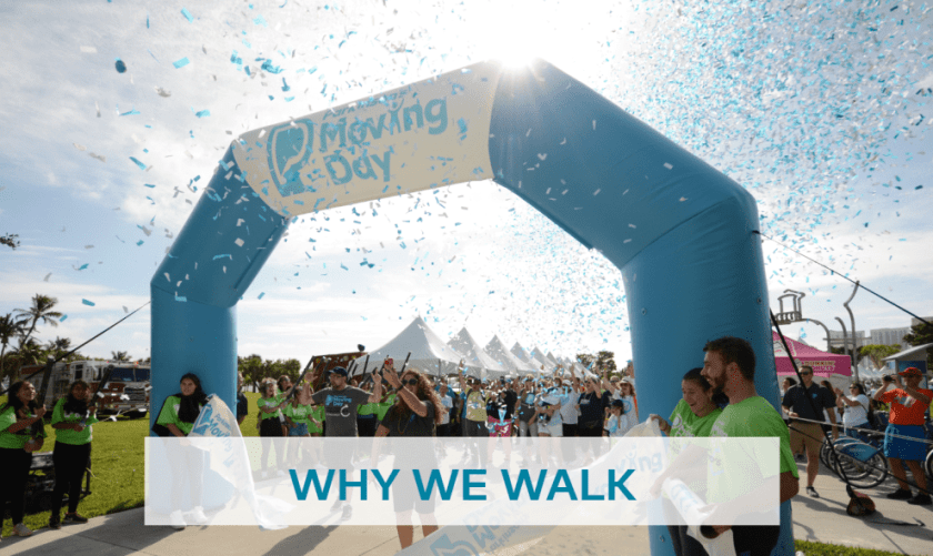 The National Parkinsons Foundation Moving Day Walk