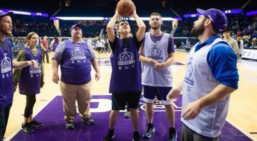 ROBERT L. LAVIN KESHET BUDDY BASKETBALL ALL-STAR GAME