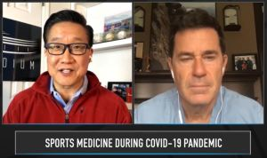 Dr Brian Cole on Stadium: Impact of COVID on athletes