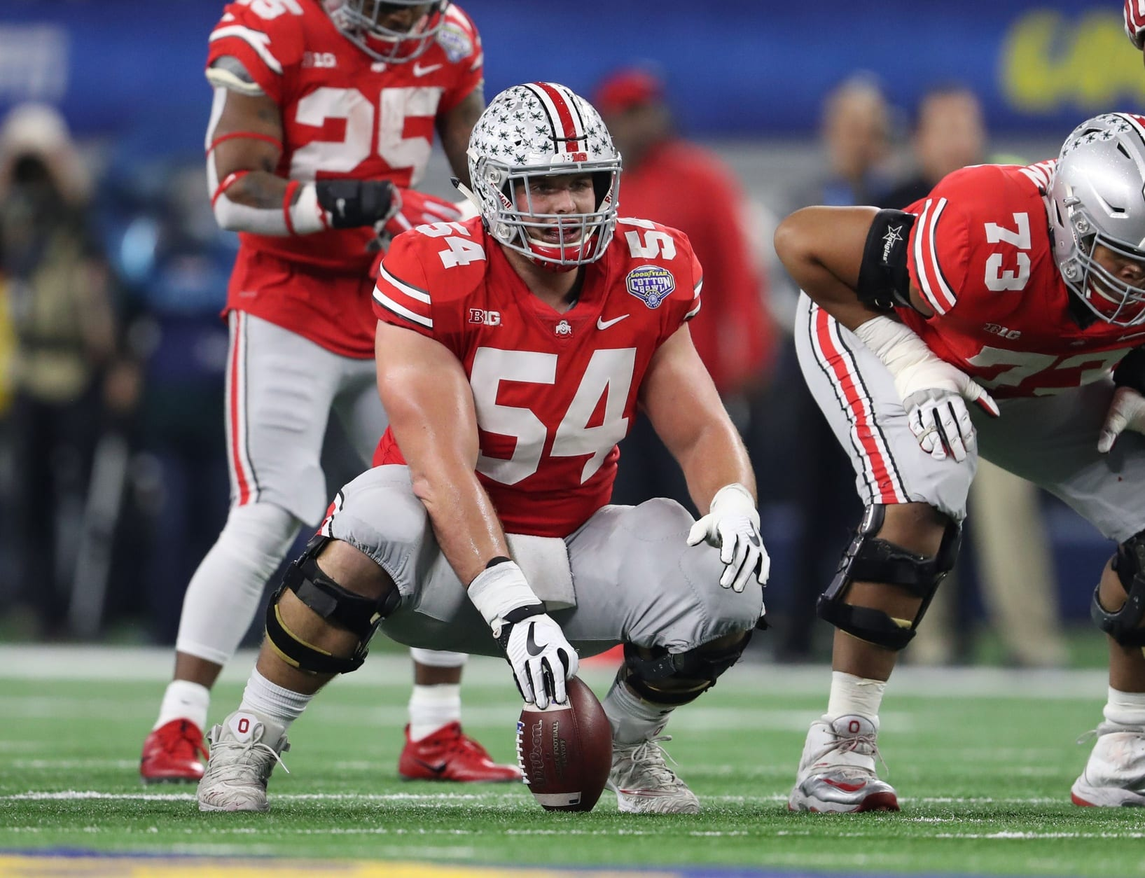 Top Nfl Draft Prospect Billy Price Injured At The Scouting