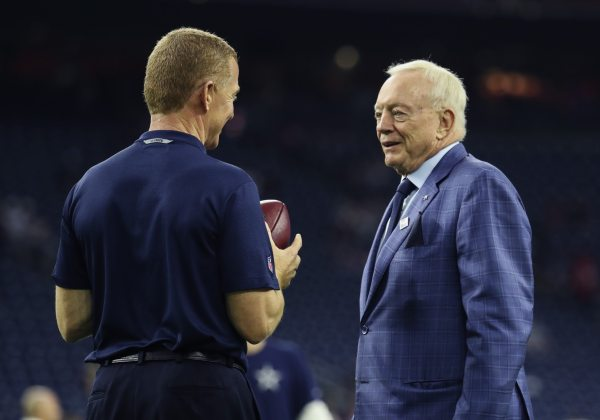 Jerry Jones has hilarious response to Jason Garrett
