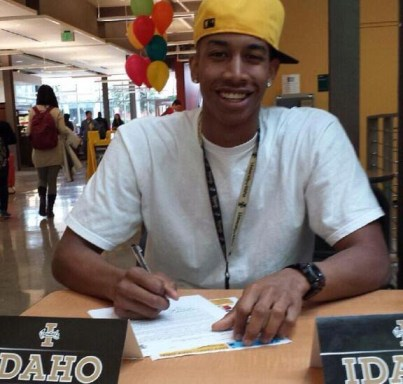 Nahshon George signs with Idaho Vandals