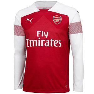 2018-2019 Arsenal Home Long Sleeve Shirt