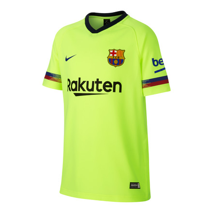 2018-2019 Barcelona Away Half Sleeve Shirt