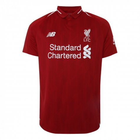 2018-2019 Liverpool Home Long Sleeve Shirt