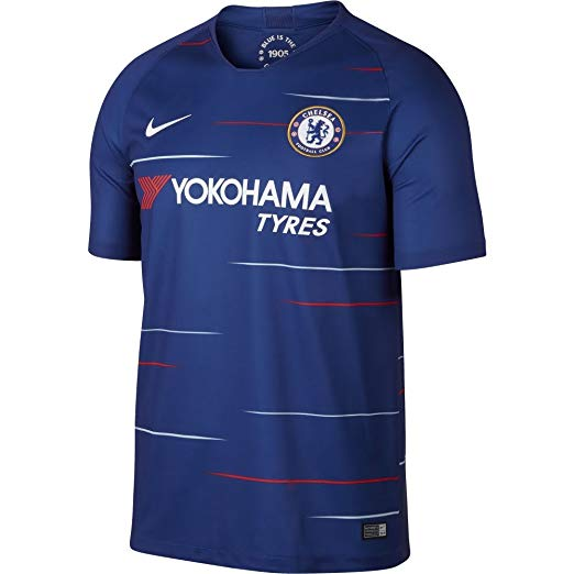 Chelsea 2018-19 Home Blue Shirt