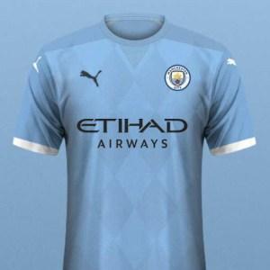 SIX Puma Manchester City 2019-20 Concept Home Kits