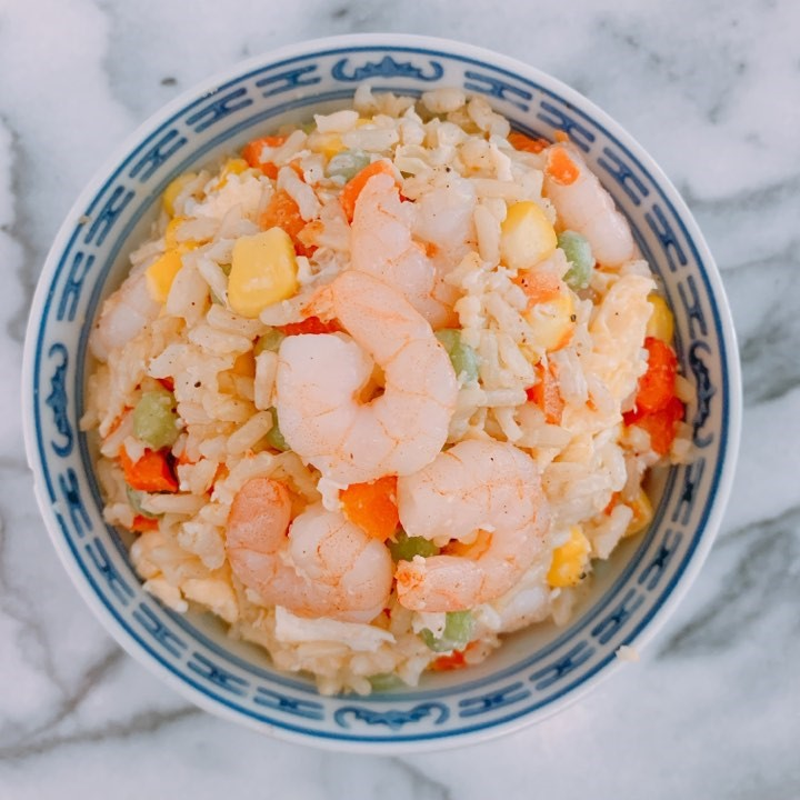 Prawn and Egg Fried Rice