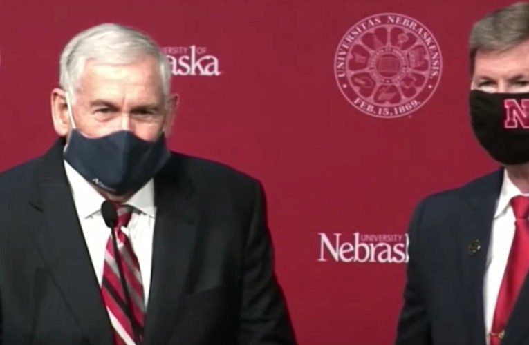 Watch: University of Nebraska President's Comments Spark Big Ten Football Rumors