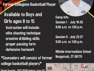 Naugatuck Basketball Association Hoops Camp