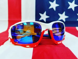 ca3ba40d7 Polarized brown with a blue solid mirror:
