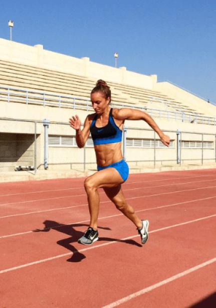 Emily Diamond - Training