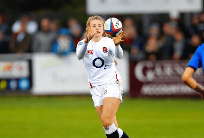 England Rugby star Zoe Harrison