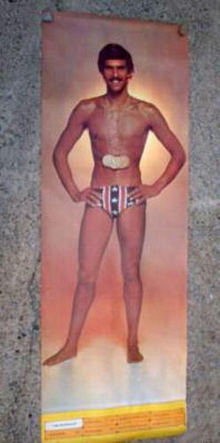 """Mark Spitz """"7 Gold"""" Poster (1972)"""