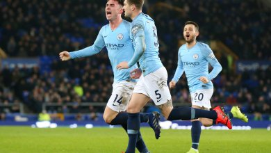 Photo of City beat Everton at Goodison Park to knock Liverpool off the top spot