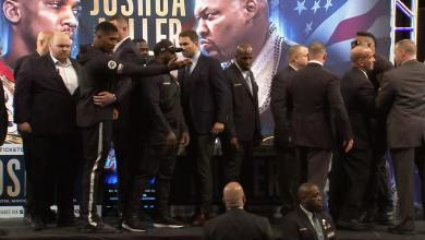 Photo of Joshua and Miller trade insults at fiery MSG news conference