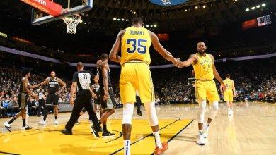 Photo of Watch as Durant blocks Kings rookie Bagley five times in one half