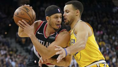 Photo of Stephen Curry and brother Seth to compete in three-point contest