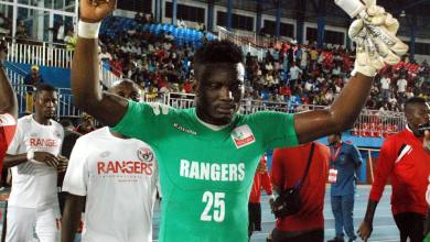 Photo of Nana Bonsu the hero as 10-man Enugu Rangers survive Salitas FC to stay alive in CAF Confederation Cup