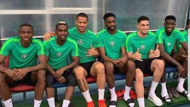 Photo of Uzoho, Osimhen and two other Super Eagles stars train with Olympics Eagles ahead of Libya clash
