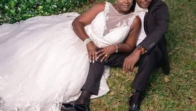Photo of Katsina Utd coach Abdullahi Biffo weds American girlfriend Rose John