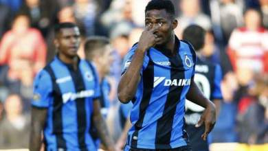 Photo of Emmanuel Dennis scores again as Club Brugge trash Standard Liege to keep 100% record in Belgian title playoffs