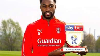 Photo of Semi Ajayi wins Championship player of the month of March