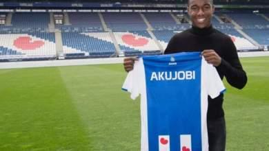 Photo of Flying Eagles invitee Hamdi Akujobi signs 3-year contract with SC Heerenveen