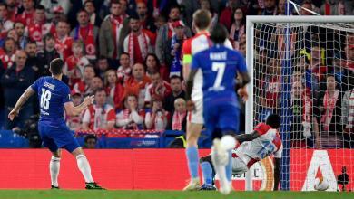 Photo of Chelsea 4 Slavia Prague 3 (5-3 agg): Sarri´s men reach semis despite alarming second half