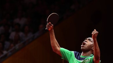 Photo of Bode Abiodun fails to qualify after throwing away 3-1 lead in loss to Saudi's Ali Alkhadrawi