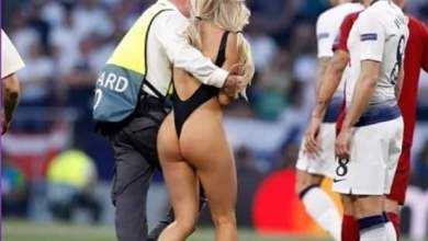 Photo of Kinsey Wolanski the Tottenham-Liverpool pitch invader explains her action