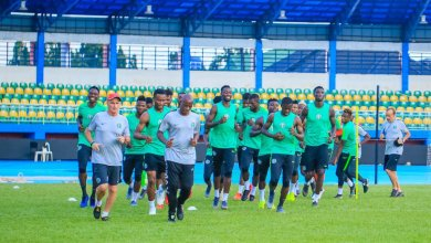 Photo of Super Eagles Land In Egypt Ahead Of AFCON