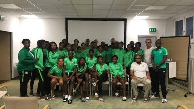 Photo of NFF official educates Super Falcons on integrity variables