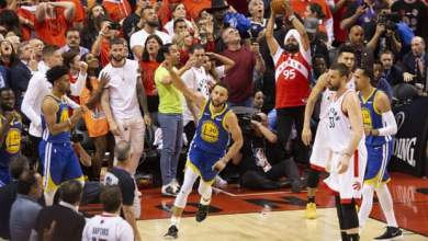 Photo of Warriors defeat Raptors in Game 5 thriller to keep series alive