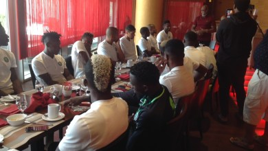 Photo of Amaju Pinnick Charges Super Eagles To Soar Over South Africa