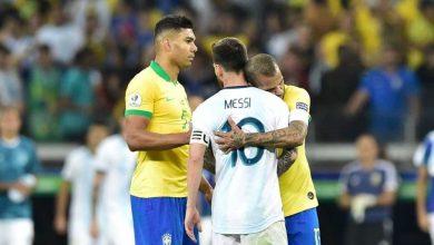 Photo of Silva, Marquinhos, Alves, Casemiro & Tite react to Messi Copa rants