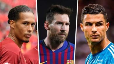 Photo of Ronaldo, Messi, Van Dijk Nominated For UCL POTY