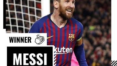Photo of Messi Wins UEFA's Goal of the Season