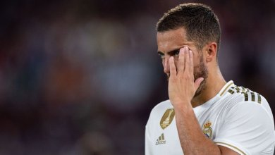 Photo of Real Madrid lose Eden Hazard for a month to muscular injury