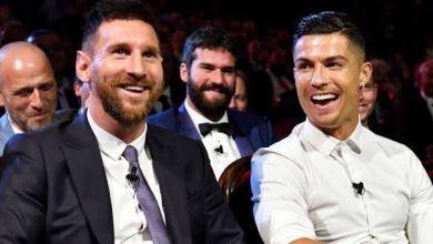 Photo of Lionel Messi reacts to Cristiano Ronaldo's dinner invite