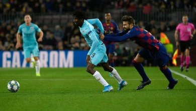Photo of Nigerians in champions league: Victor Osimhen on target, Peter Olayinka schools Barcelona as Paul Onuachu fires blank