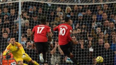 Photo of Man City Title Hopes In Tatters After Defeat To Man Utd