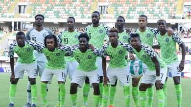 Photo of Nigeria drawn in group C alongside CAR, Liberia and Cape Verde