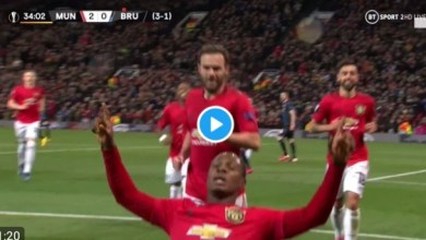 Photo of VIDEO: Watch as Odion Ighalo scores on his first start for Manchester United