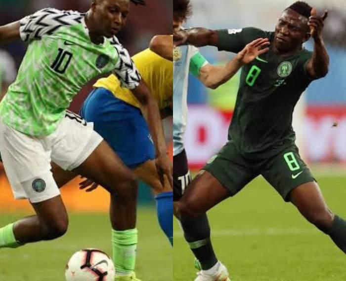 Joe Aribo and Oghenekaro Etebo