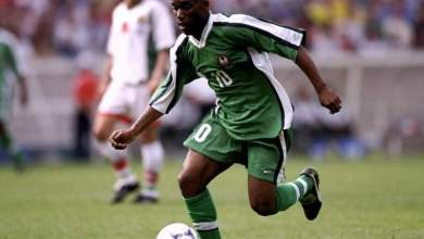 "Photo of Augustine Azuka ""Jay-Jay"" Okocha named 7th best African player of All-time"