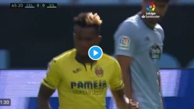 Photo of VIDEO: Watch as Chukwueze sets up Trigueros in Villarreal 1-0 win at Celta